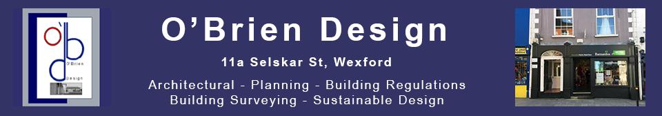 O'Brien Design | David O'Brien | Practical Designs with Eco-friendly Credentials